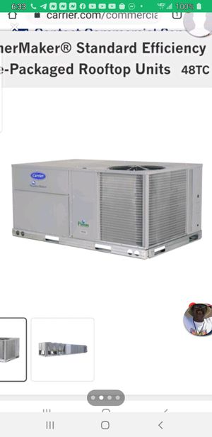 12 Ton Carrier Package Units 3 Phase for Sale in Vallejo, CA