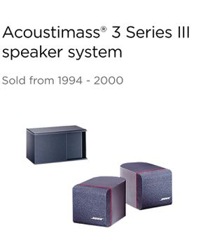 Bose Acoustimass 3 for Sale in Hillsboro, OR