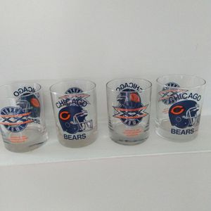 Chicago Bears Glassware for Sale in Montgomery, IL