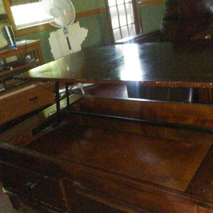 Lifting top coffee table storage and 2 drawers for Sale in Concordia, KS