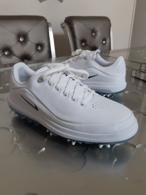 Nike Air Zoom Precision Golf Shoes White Black Volt 866065-100 Men's for Sale in Chula Vista, CA