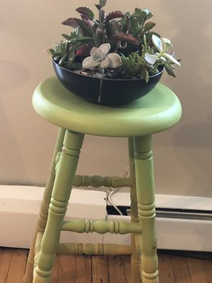 Hand painted bar stool for Sale in Mount Prospect, IL