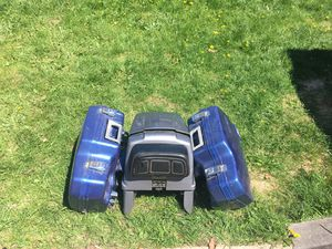 Honda Saddle Bags+trunk/backrest for Sale in Traverse City, MI