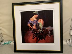 "Painting ""The Green Hat"" by Rajinder for Sale in Irvine, CA"