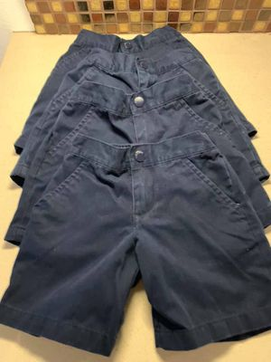 Navy blue uniform shorts size 5T for Sale in Pasadena, CA