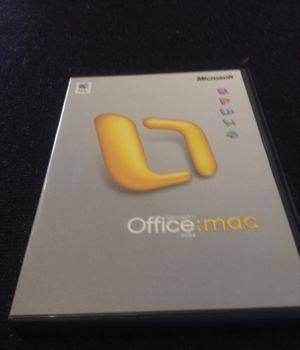 MS Office Mac 2004 for Sale in Braintree, MA
