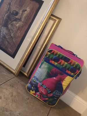 Toddler Trolls Suitcase for Sale in Buda, TX