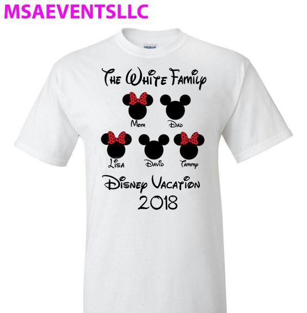 Custom Disney Trip Family Shirts 10ea For Sale In Columbus Oh Offerup