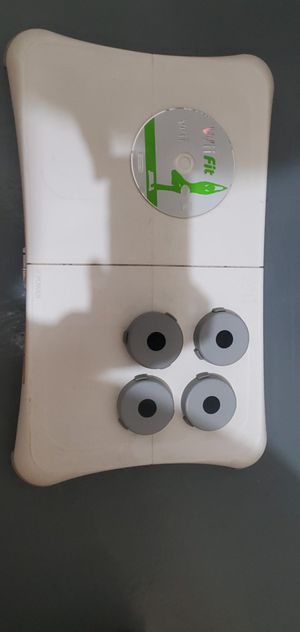 Wii Fit Board and Game for Sale in Alexandria, VA