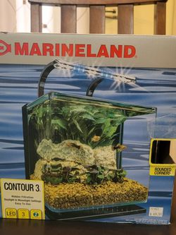 Marineland 3 Gallon Fish Tank With Add Ons for Sale in Baltimore,  MD