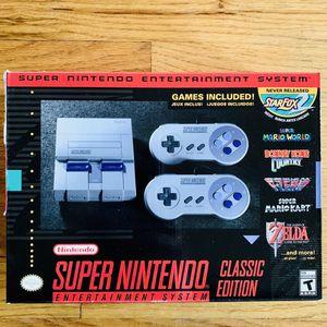 Snes classic edition console Super Nintendo NEW! for Sale in Fullerton, CA