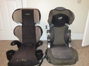 Booster seats 15.00 a piece for Sale in Roseville, OH