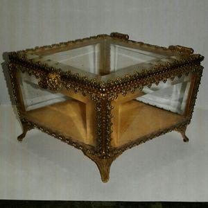 Antique Vintage Jewelry Diamond Shaped Box for Sale in Miami, FL