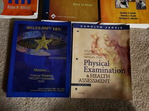 College books nursing and others for Sale in Metairie, LA