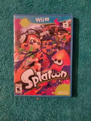 Nintendo Wii U Splatoon Video Game for Sale in Houston, TX