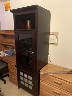 Real Cherry Wood Cabinets (2) for Sale in Denver,  CO