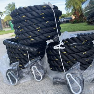 Brand New Battle Ropes - 12 Ropes Left for Sale in Miami, FL