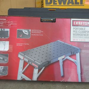Craftsman Portable Peg Clamping Woekbench for Sale in Norwalk, CA