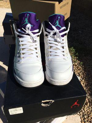 Jordan Retro 5s Grape (2013) for Sale in Glendale, AZ