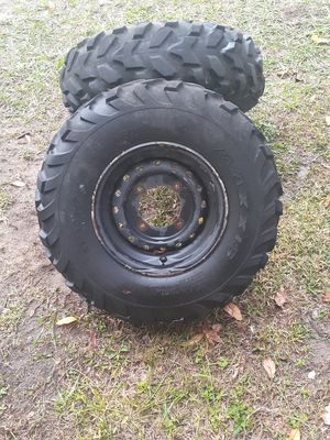 Atv tires 26 x 8.00 - 12 for Sale in Dunnellon, FL