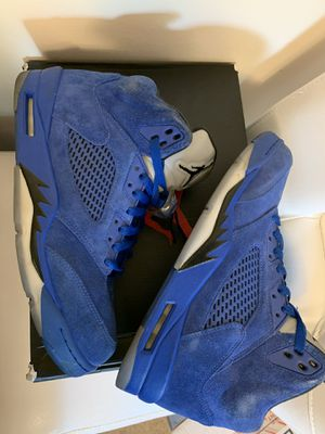 VNDS JORDAN 5 BLUE SUEDE SIZE 10.5 for Sale in Kent, WA