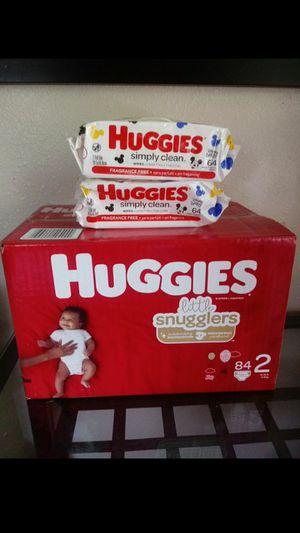 Huggies Little Snugglers Size 2!!READ THE ADDDD❤👶💛 for Sale in Carson, CA