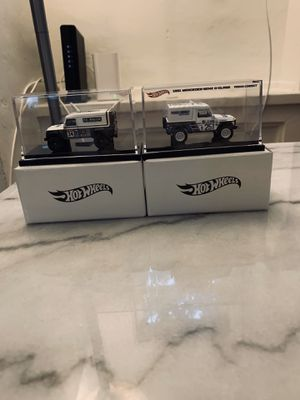 Hot Wheels Periodcorrect Mercedes Land Rover Die-Cast for Sale in Beverly Hills, CA