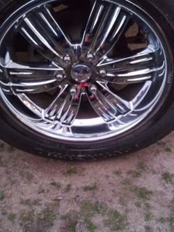 Chevy Rims 22 for Sale in Fresno,  CA
