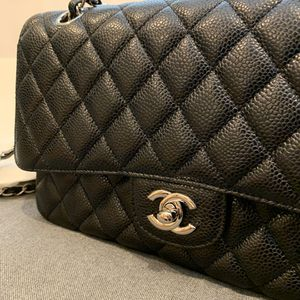 Brand New Classic Chanel Medium Double Flap Bag Caviar Leather silver hardware for Sale in City of Industry, CA