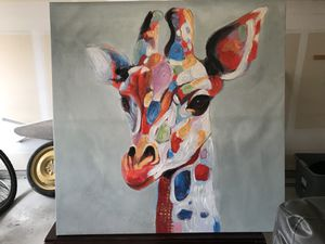 Colorful Giraffe Painting for Sale in Austin, TX