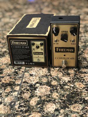 Friedman Golden Pearl guitar pedal for Sale in Clovis, CA