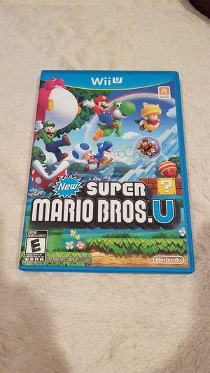 New Super Mario Bros. U for Wii for Sale in Federal Way, WA