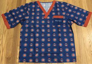 Chicago Cubs Health Care Appreciation Scrub Top Size SMALL SGA 6/4/19 for Sale in Chicago, IL