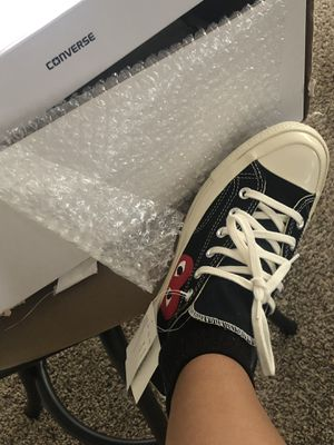 CDG converse for Sale in Raleigh, NC