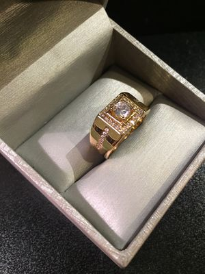 🌸 ON SALE🌸 Unisex High Quality 🤵👰💍 18K Gold plated Engagement /Wedding Ring 🤩 for Sale in Dallas, TX