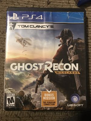 Ghost Recon Wildlans PS4 for Sale in Wichita, KS
