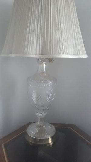 Crystal table lamps for Sale in Cypress, CA