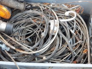 Motorcycle Cables Vintage and Complete..100# pcs for Sale in Sunland-Tujunga, CA