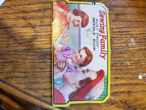 Vintage sewing family needle book for Sale in La Mirada, CA