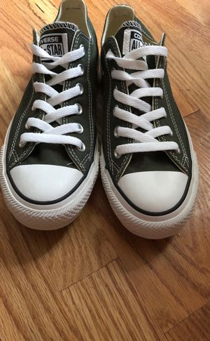 Used, Dark green Chuck lows for Sale for sale  Bronx, NY