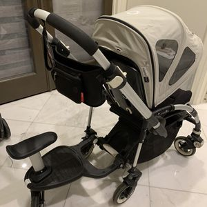 Bugaboo bee Stroller with wheeled board for Sale in Temple City, CA