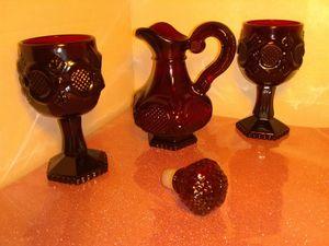 Collectible Cape Cod Avon glass set for Sale in Atlanta, GA
