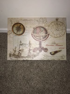 Marine Times Canvas for Sale in St. Peters, MO