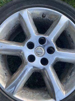 04-06 Factory Nissan Maxima Chrome Rims for Sale in North Providence, RI