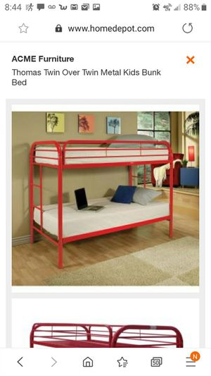 Bunk beds frame only for Sale in Dinuba, CA