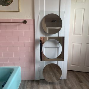 Modern Wall Mirror for Sale in Webster, MA