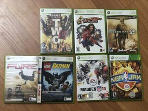 xbox 360 games bundle for Sale in Queens, NY