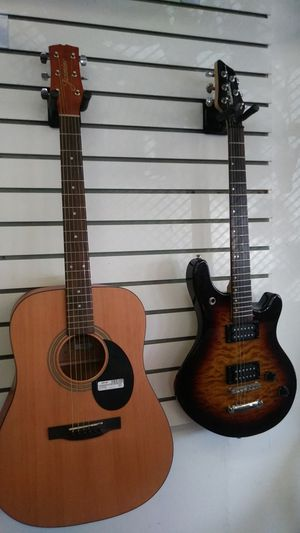 Acoustic and electric guitars. for Sale in Lakewood, CO