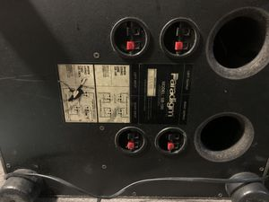 Paradigm SB-100 high-Def subwoofer $30 OBO , sounds great, not blown , pick up in souuth for Sale in Portland, OR