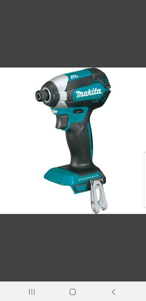 Brand NEW : Makita 18-Volt LXT Lithium-Ion Brushless 1/4 in. Cordless Impact Driver (Tool Only) for Sale in Herndon, VA